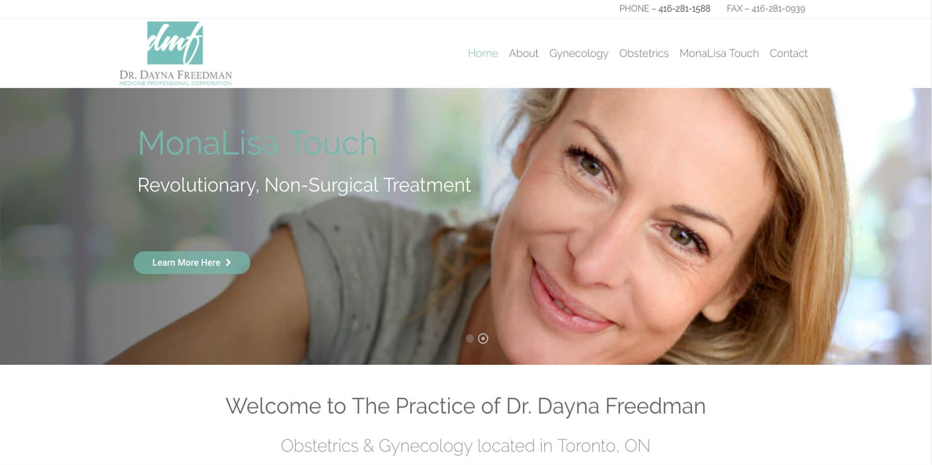 DR. DAYNA FREEDMAN