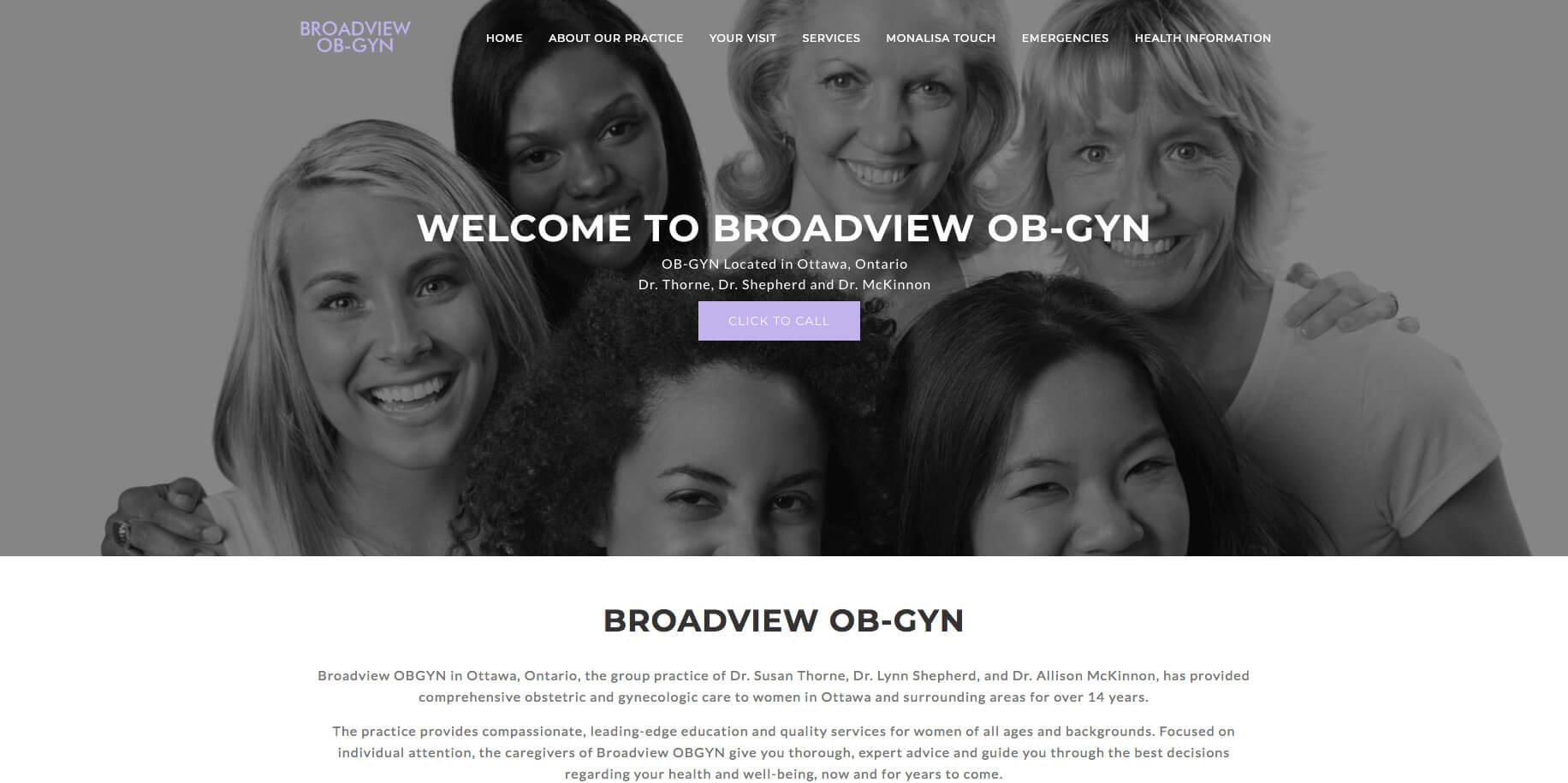 BROADVIEW OB-GYN – Spark Medical Marketing