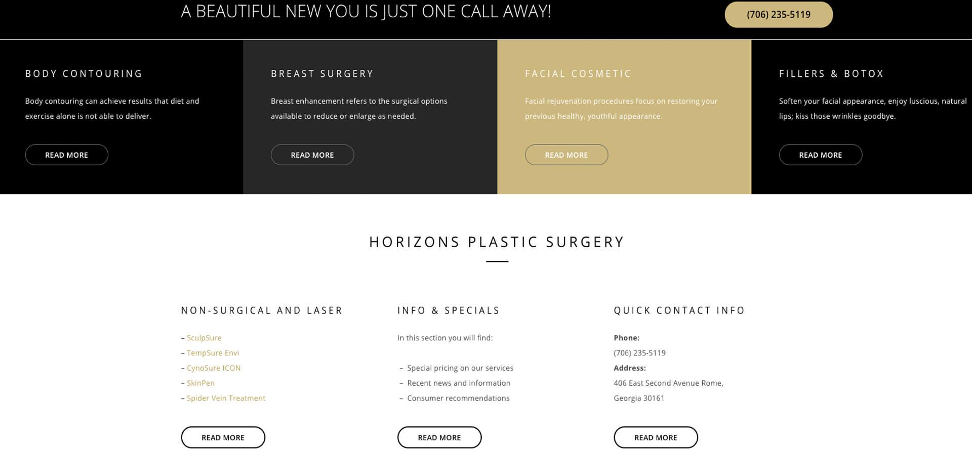 Horizons Plastic Surgery
