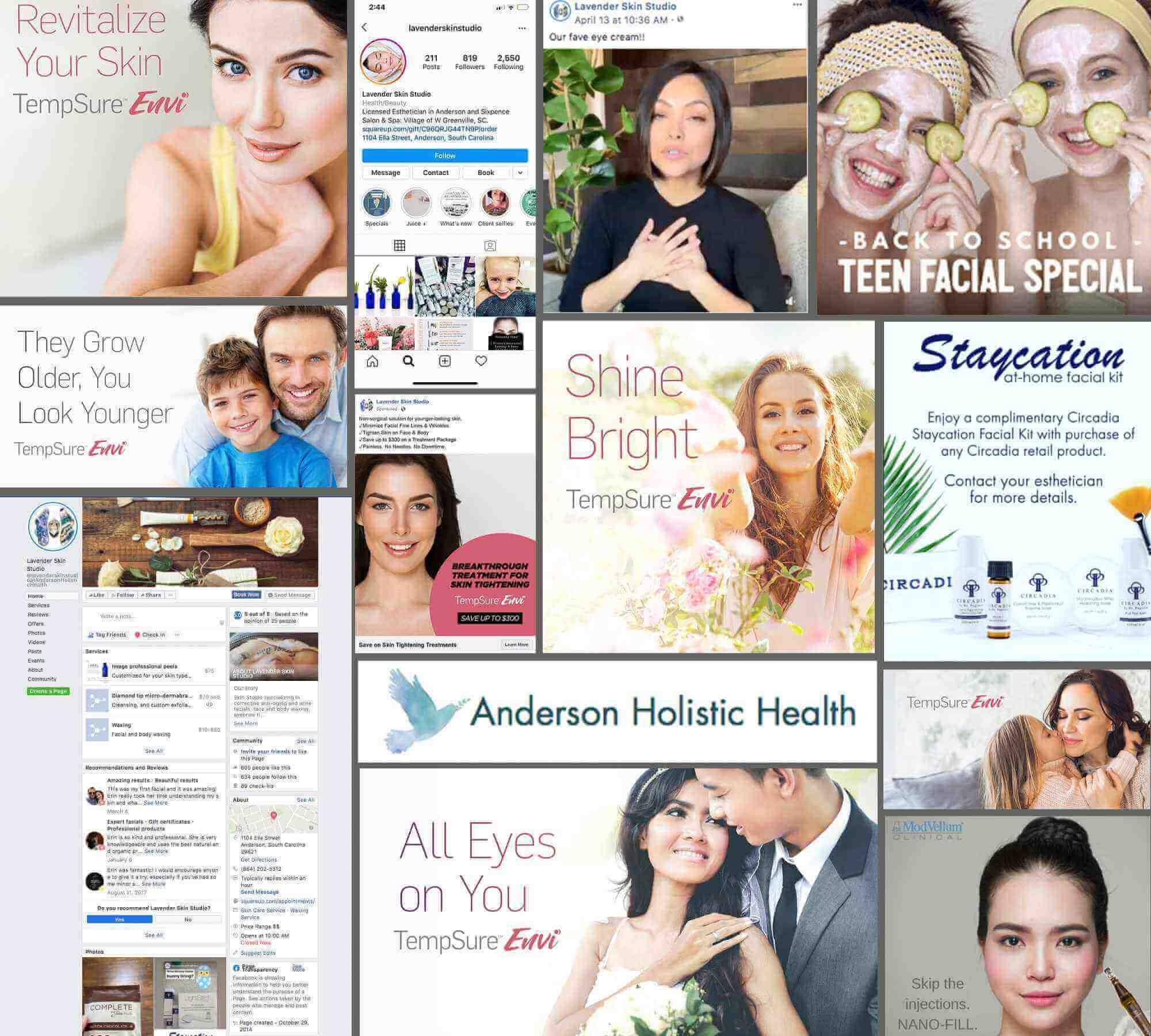 Anderson Holistic Health Social Media Ads