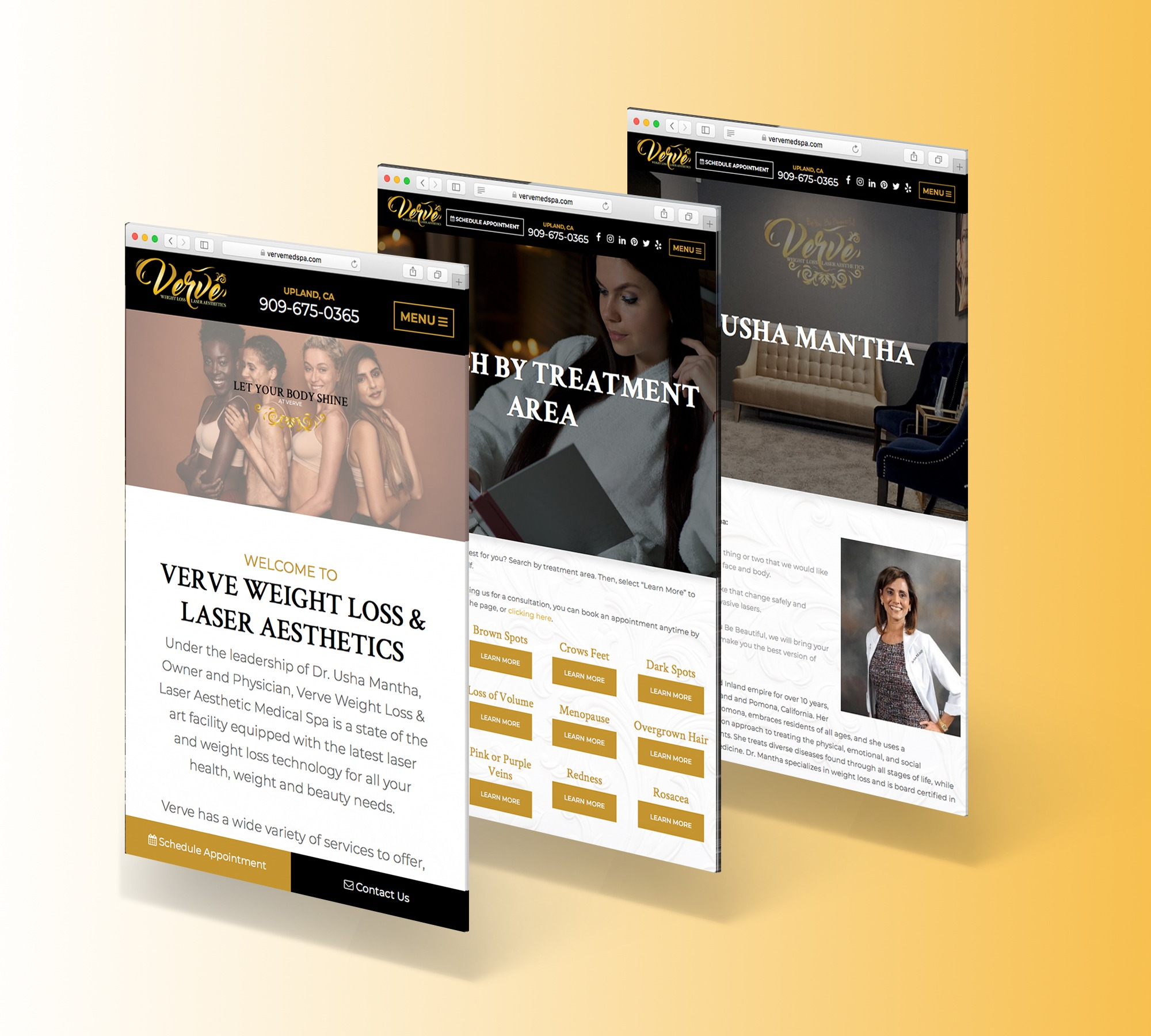 Verve Weight Loss & Laser Aesthetic Medical Spa Web Display