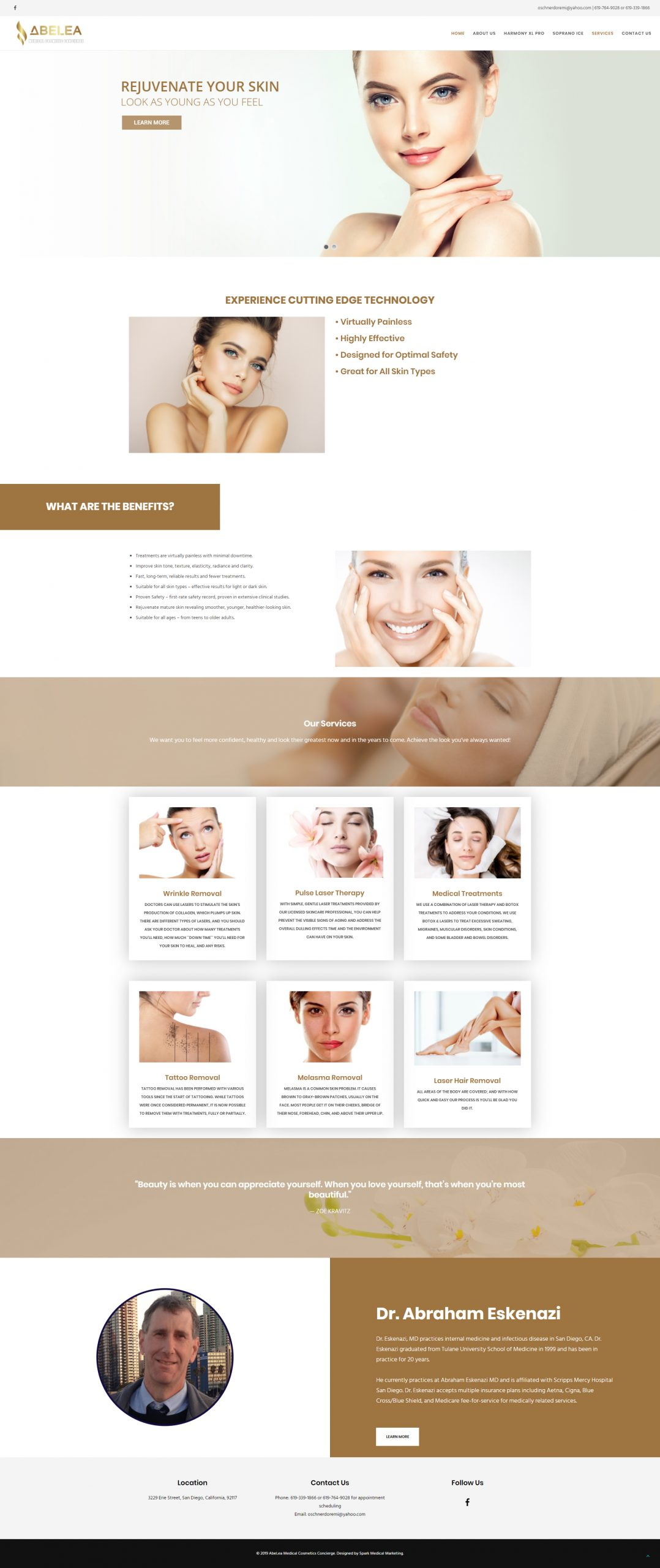 Abelea Homepage