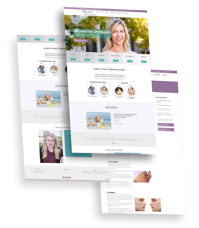 AAIR Charlotte Web Design