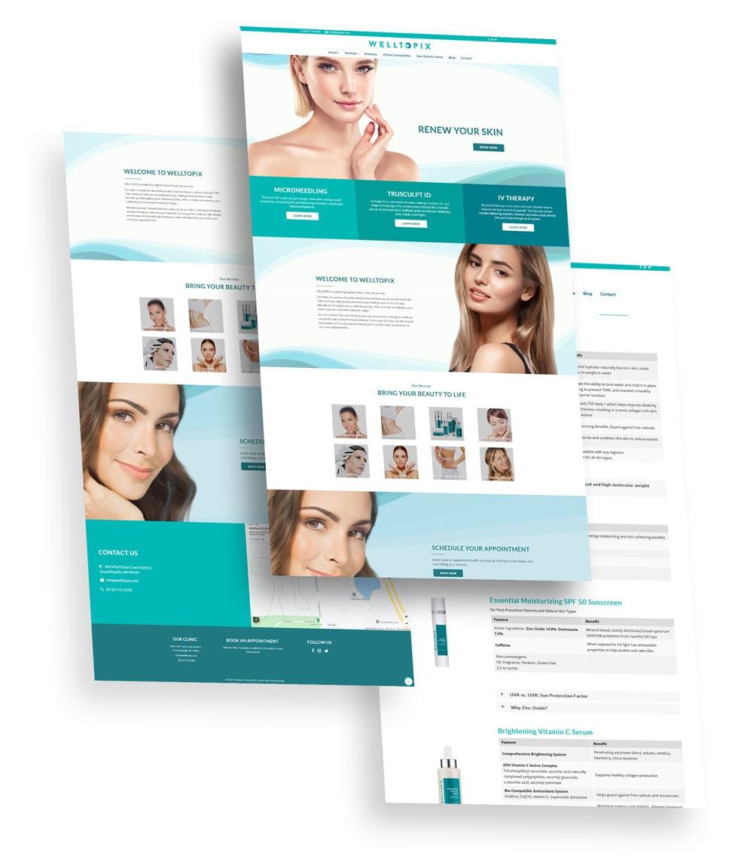 Welltopix Web Design